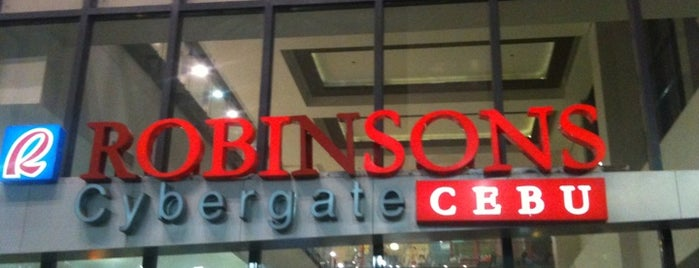 Robinsons Cybergate is one of Top picks for Malls.