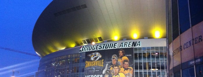 Bridgestone Arena is one of JYM Hockey Arenas TOP100.