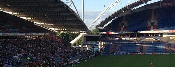 John Smith's Stadium is one of Stadiums.