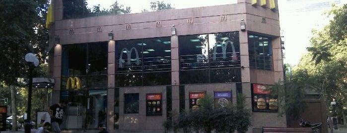 McDonald's is one of Ticket Restaurant.