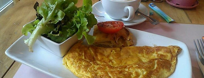 Café Tartine is one of LanLa aLonG Soi Ruamrudee!.