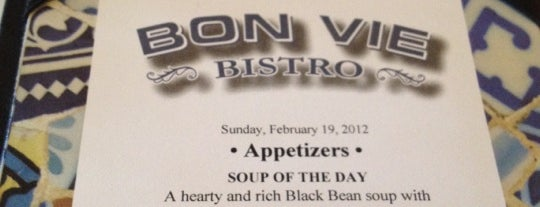 Bon Vie Bistro is one of French Restaurants - CMH.