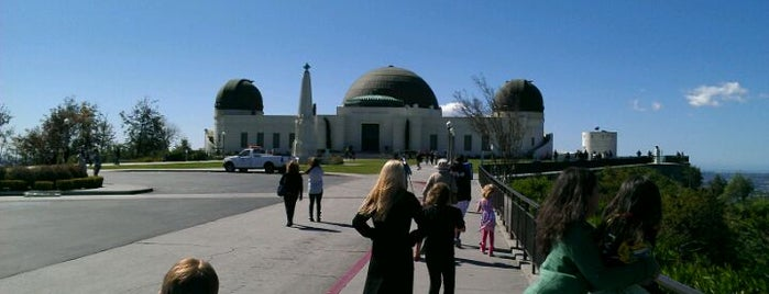 Griffith Observatory is one of Los Angeles.