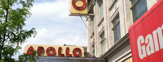 Apollo Theater is one of NYC Stay-cation.