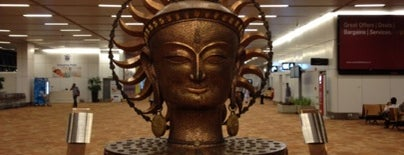 Indira Gandhi International Airport (DEL) is one of Our India Trip 2012.