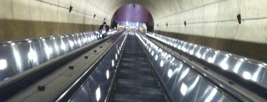 Wheaton Metro Station is one of WMATA Train Stations.