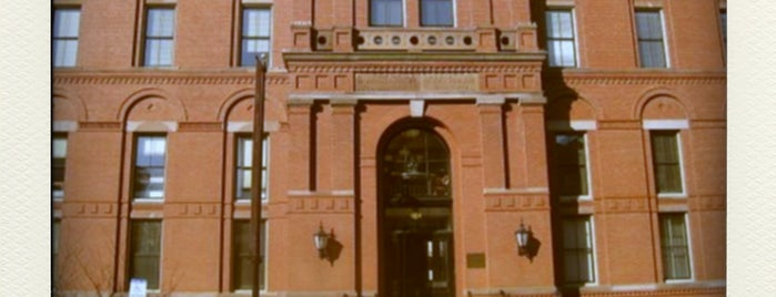 Peabody Museum of Archaeology and Ethnology is one of Aquariums, Museums and Zoos in Boston.