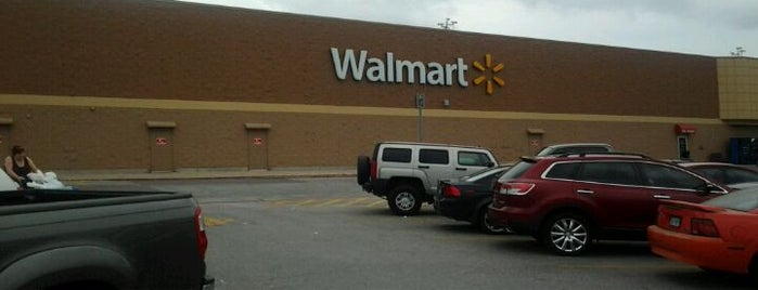 Walmart Supercenter is one of just here.