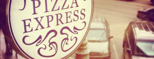 Pizza Express is one of Done List.