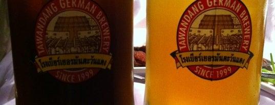 Tawandang German Brewery is one of All Bars & Clubs: TalkBangkok.com.
