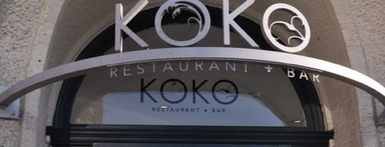 KOKO Restaurant + Bar is one of Favorite Nightlife Spots.