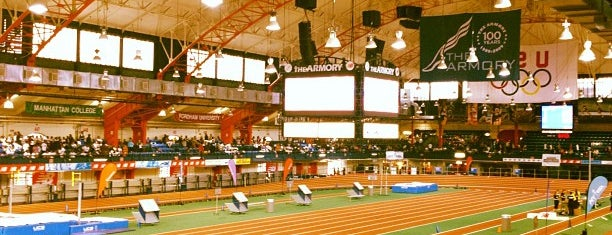 "New Balance Track & Field Center at The Armory is one of ""Be Robin Hood #121212 Concert"" @ New York!."