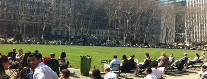 Bryant Park is one of New York City's Must-See Attractions.