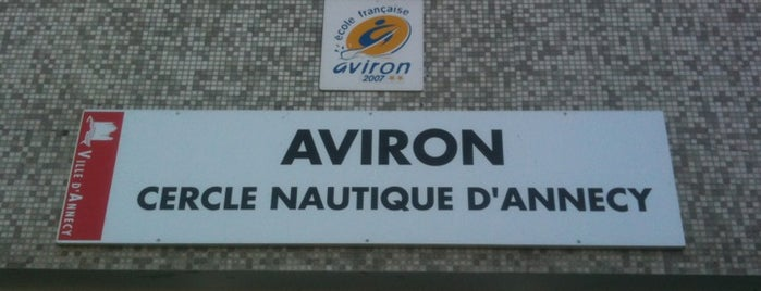 Aviron - cercle nautique d'Annecy is one of Tom's Tips.