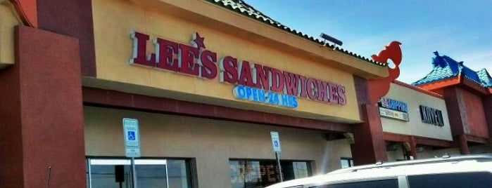Lee's Sandwiches is one of Great Places to Eat in Vegas!.