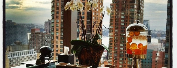 The Spa at Mandarin Oriental, New York is one of NYC's Upper West Side.