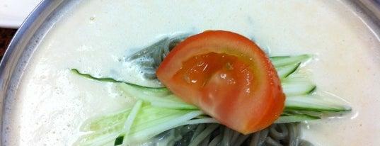 Ma Dang Gook Soo 마당국수 is one of Top 50 restaurants in LA.