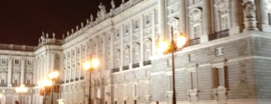 Plaza de Oriente is one of @ Madrid (MD, España).