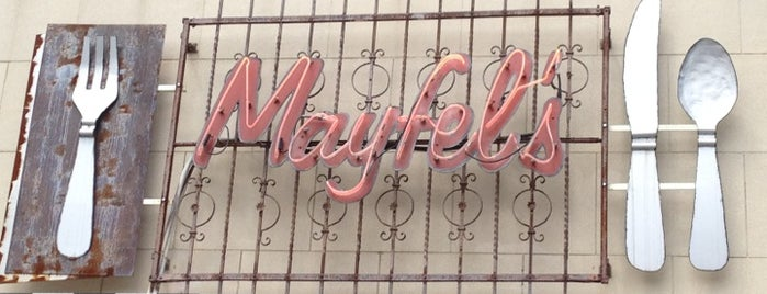 Mayfel's is one of 10 Years in Asheville.