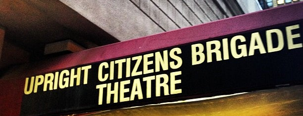 Upright Citizens Brigade Theatre is one of Get Excited & Do Awesome Shit in NYC!.