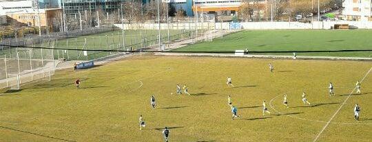 BKV Előre Sporttelep is one of Stadionok.