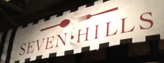 Seven Hills is one of San Francisco.