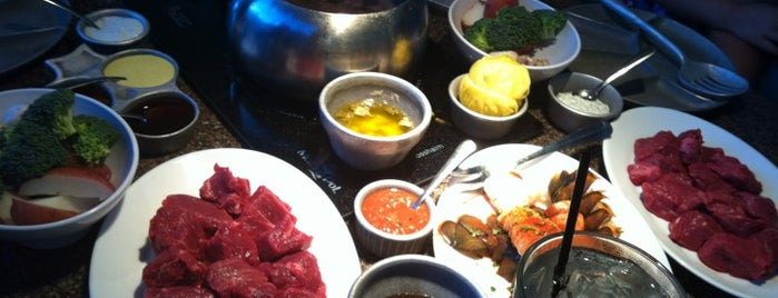 The Melting Pot is one of 20 favorite places to eat.