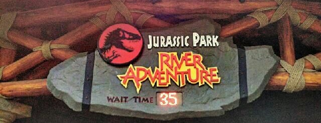 Jurassic Park River Adventure is one of Florida Rides 2012.