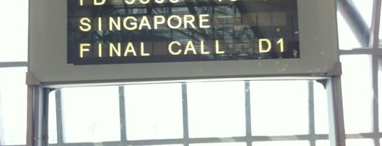 Gate D1 is one of TH-Airport-BKK-1.