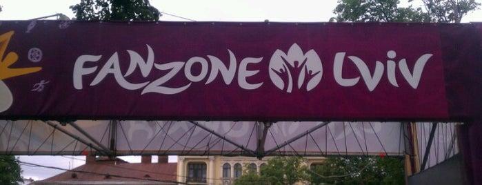 Lviv FanZone / Львівська ФанЗона is one of UEFA EURO 2012 Fan Zones.