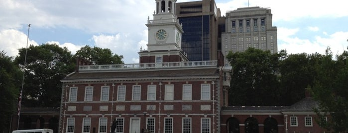 Independence National Historical Park is one of NEPA/SEPA/Phila Parks.