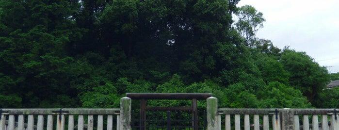 後一条天皇 菩提樹院陵 is one of 天皇陵.