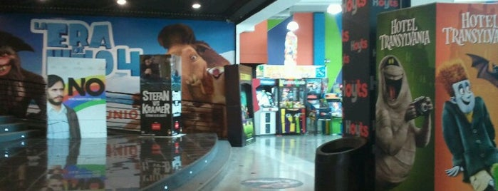 Cine Hoyts is one of Complejos.