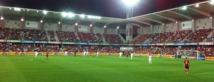 Estadio Municipal de Pasarón is one of Tips de los oyentes.