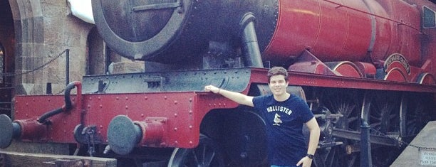 Hogsmeade Station is one of Florida Trip '12.