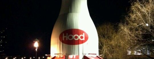 Milk Bottle is one of Boston City Badge - Beantown.