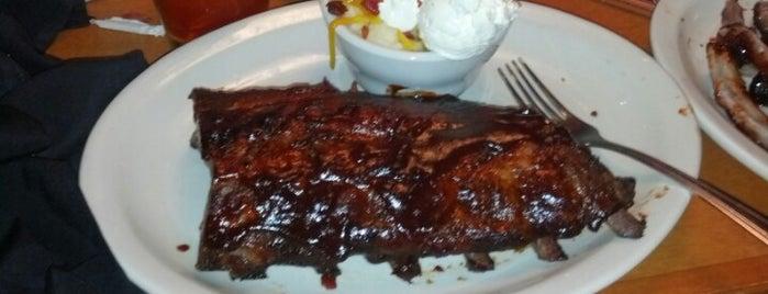Texas Roadhouse is one of 20 favorite restaurants.
