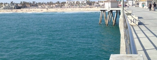 Huntington Beach Pier is one of Beachy Places.