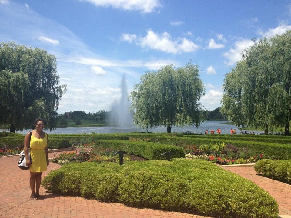 Chicago Botanic Garden At 1000 Lake Cook Rd Btwn Green Bay Rd Skokie Hwy Glencoe Il