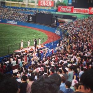 明治神宮野球場 (Meiji Jingu Stadium)