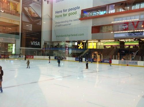 Ice Rink حلبة التزلج