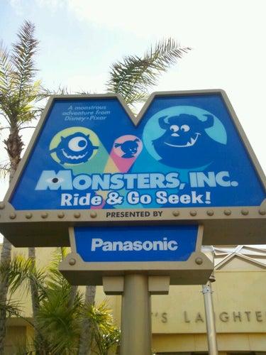 """モンスターズ・インク""""ライド&ゴーシーク!"""" (Monsters, Inc.  Ride & Go Seek!)"""