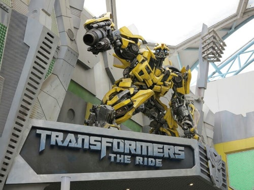 Transformers The Ride: The Ultimate 3D Battle