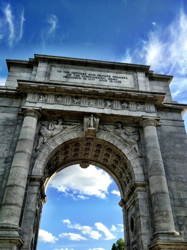 Valley Forge Memorial Arch