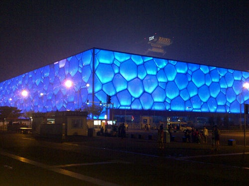 国家游泳中心 (水立方)  National Aquatic Center (Water Cube)