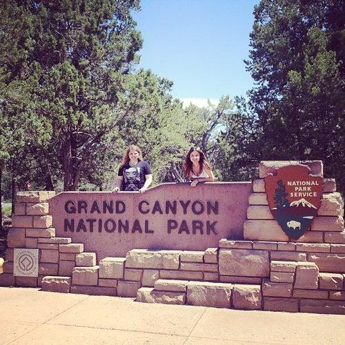 Grand Canyon South Rim Entrance