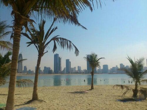 Al Mamzar Beach شاطئ الممزر