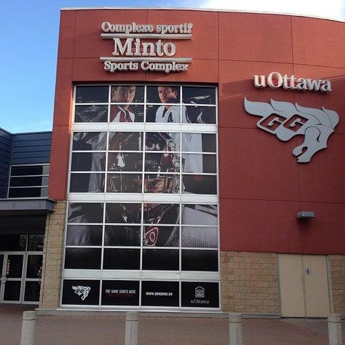 Minto Sports Complex   Complexe sportif Minto - uOttawa