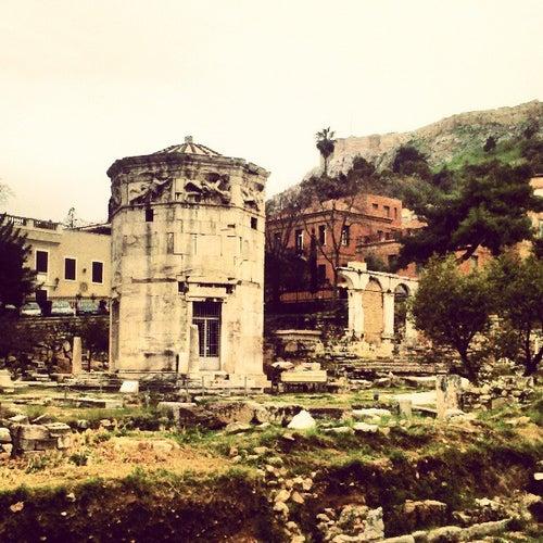 Αέρηδες - Ωρολόγιο του Κυρρήστου (Tower of the Winds-Horologion of Andronicos)