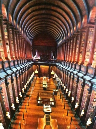 Trinity College Old Library & The Book of Kells Exhibition
